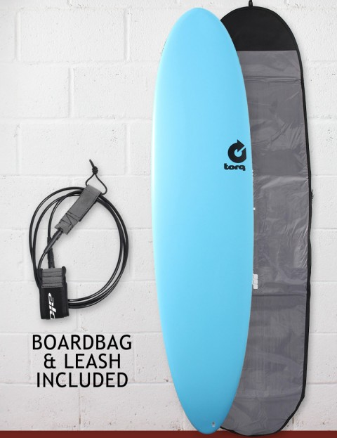 Torq Mod Fun Soft & Hard Surfboard Package 7ft 6 - Blue