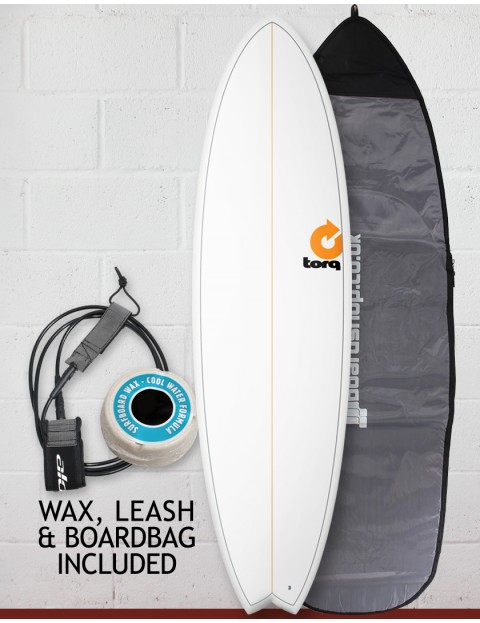 Torq Mod Fish surfboard package 6ft 10 - Pinline