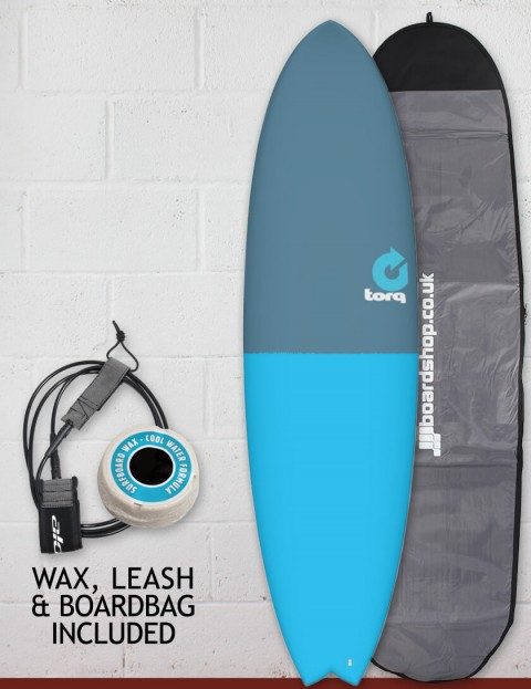 Torq Mod Fish surfboard package 7ft 2 - Fifty Fifty
