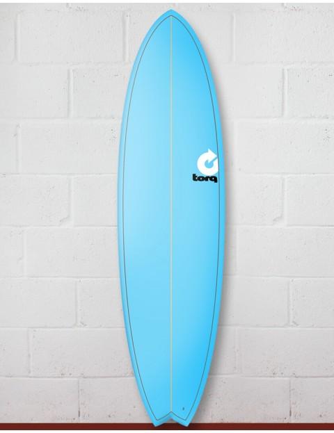 Torq Mod Fish surfboard 7ft 2 - Pinline Blue