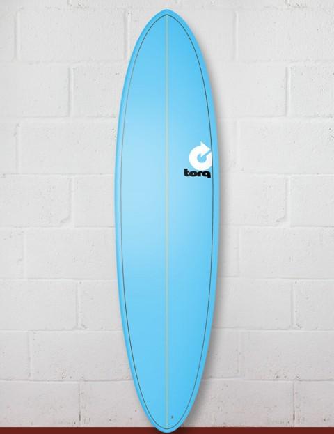 Torq Mod Fun surfboard 7ft 2 - Pinline Blue