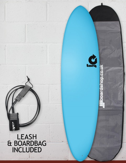 Torq Fun Soft & Hard surfboard package 7ft 2 - Blue