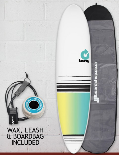 Torq Mod Fun surfboard package 7ft 6 - Colour Fade