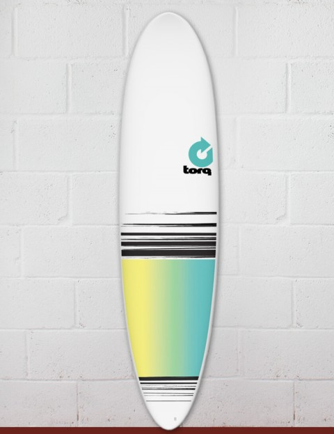 Torq Mod Fun surfboard 7ft 6 - Colour Fade