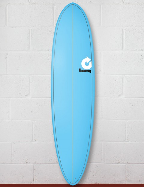 Torq Mod Fun surfboard 7ft 6 - Pinline Blue