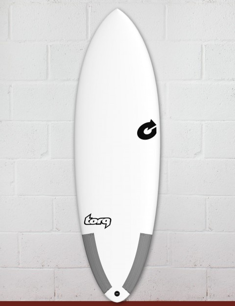Torq Tec Hybrid surfboard 6ft 4 - White