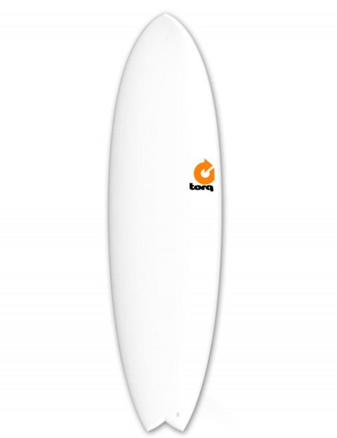 Torq Mod Fish Surfboard 6ft 6 - Matte White