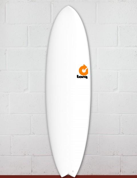Torq Mod Fish surfboard 7ft 2 - Matte White