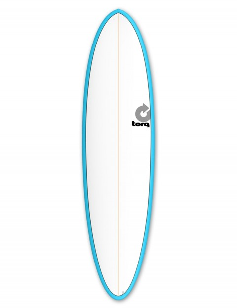 Torq Mod Fun surfboard 7ft 2 - Blue/White/Pinline