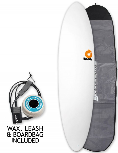 Torq Mod Fun Surfboard Package 7ft 2 - White