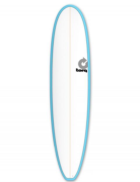 Torq Mini Long surfboard 8ft 0 - Blue/White/Pinline