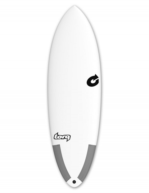 Torq Tec Hybrid surfboard 5ft 8 - White