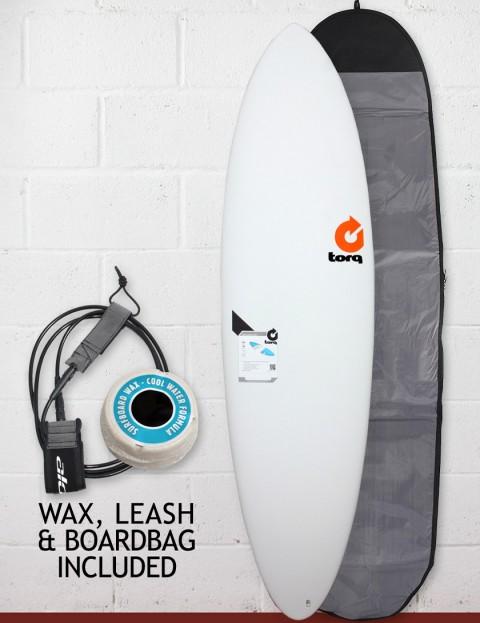 Torq Surfboards Mod Fun Package Surfboard 6ft 8 - Matte White