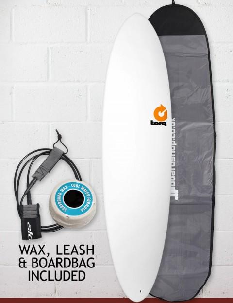 Torq Mod Fun Surfboard Package 7ft 2 - White