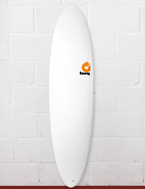Torq Mod Fun Surfboard 7ft 2 - Matte White