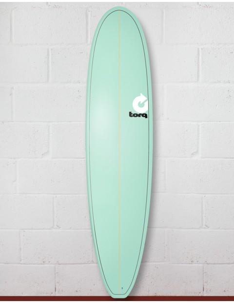 Torq Mini Long Surfboard 8ft 0 - Pinline/Seagreen