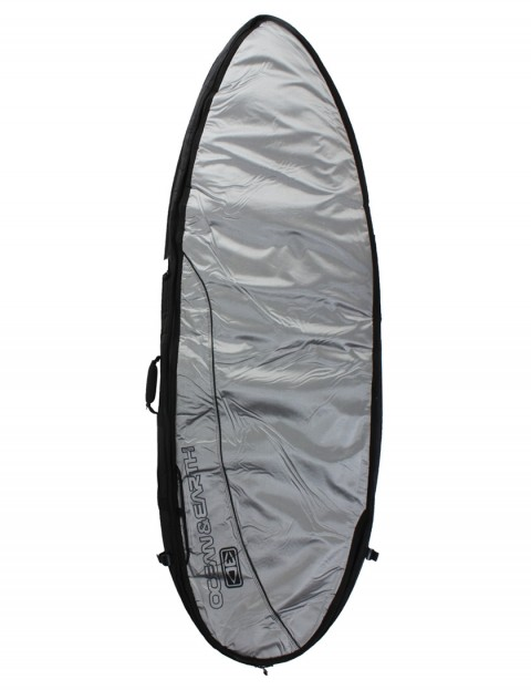 Ocean & Earth Fish Double Wide surfboard Travel bag 10mm 6ft 8 - Surf Silver