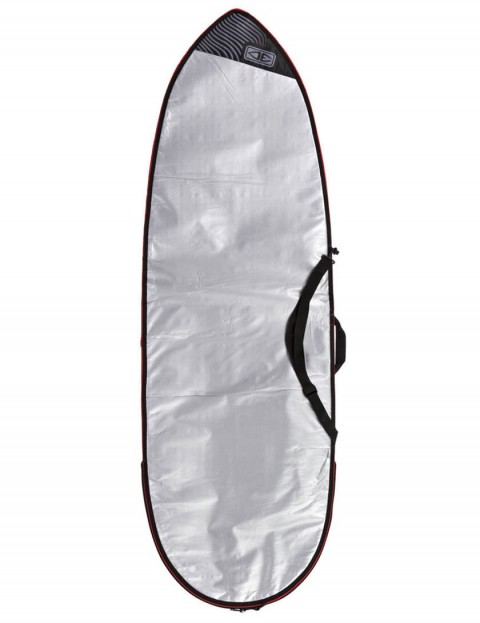 Ocean & Earth Barry Basic Fish Cover Surfboard bag 5mm 7ft 6 - Silver
