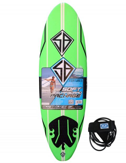 California Board Company Scott Burke Seventy Two Soft Surfboard 6ft 0 - Green