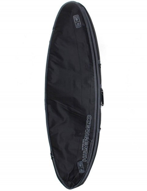 Ocean & Earth Triple Compact Shortboard 10mm Surfboard bag 6ft 8 - Black