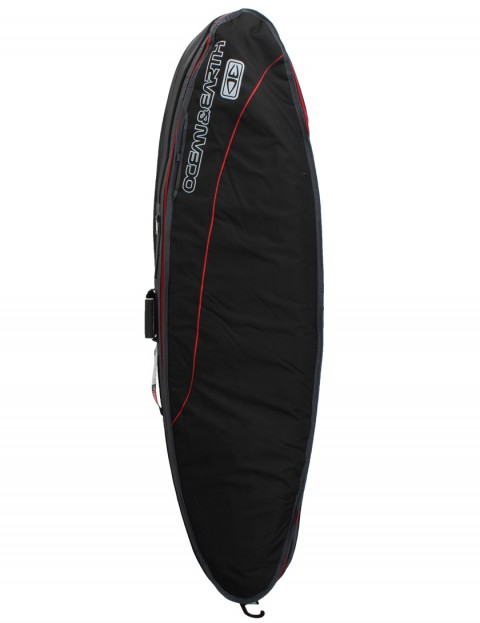 Ocean & Earth Triple Compact Shortboard 10mm Surfboard bag 6ft 8 - Black