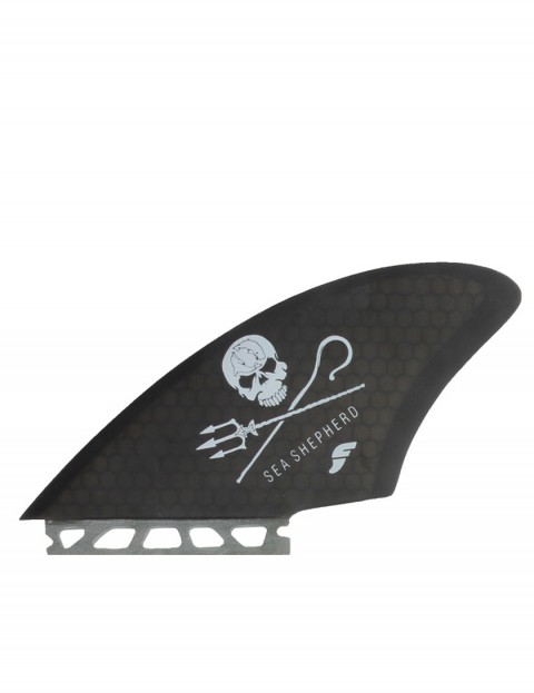 Futures Rasta Keel Twin Fins Large - Smoke