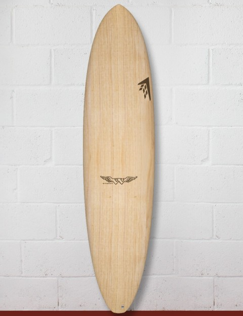 Firewire Timbertek Seaxe surfboard 7ft 6 Futures - Natural Wood