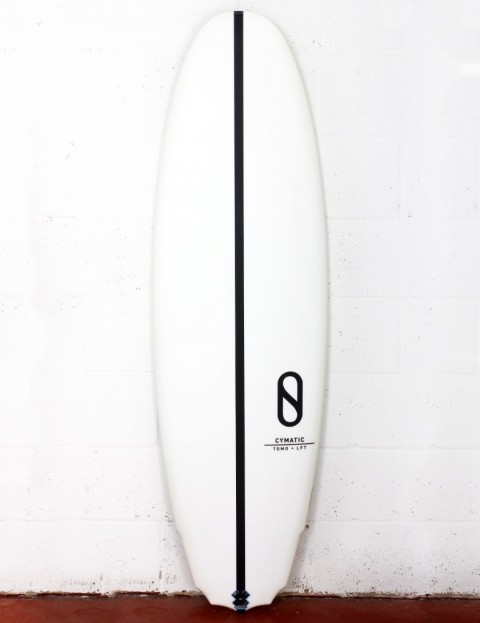 Slater Designs LFT Cymatic surfboard 5ft 8 Futures - White