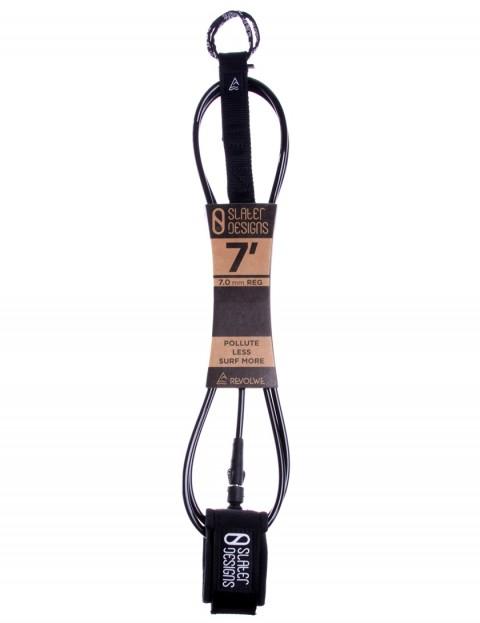 Slater Designs x Revolwe Regular surfboard leash 7ft 0 - Black