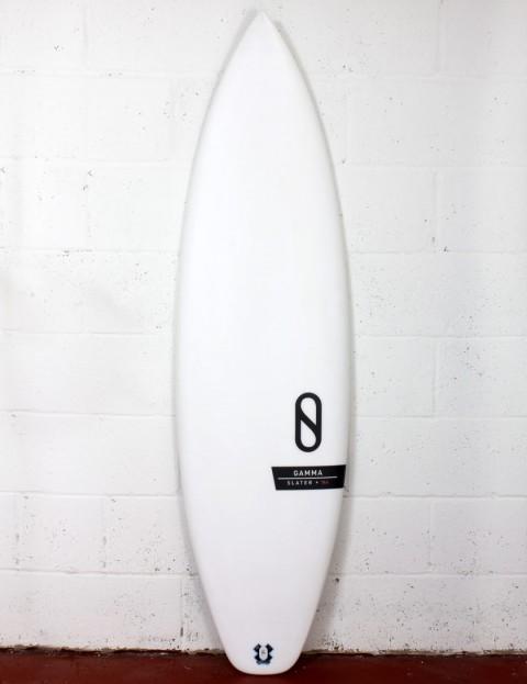 Slater Designs Helium Gamma surfboard 6ft 0 Futures - White