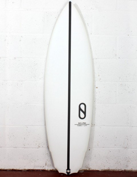 Slater Designs Sci-Phi surfboard 5ft 8 Futures - White