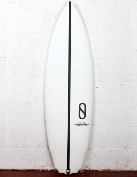 Slater Designs Sci-Phi surfboard 5ft 8 Futures - White