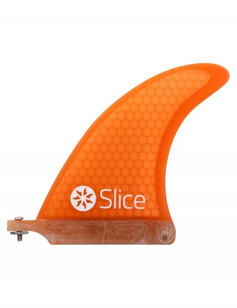 Slice RTM Ultra Light Hexcore 6.0 Longboard fin - Orange