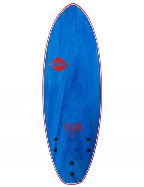 Softech Eric Geiselman Flash soft surfboard 5ft 7 FCS II - Blue Marble