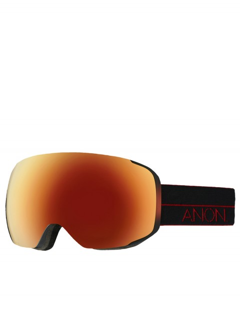 Anon M2 snow goggles - Red Light/Red Solex