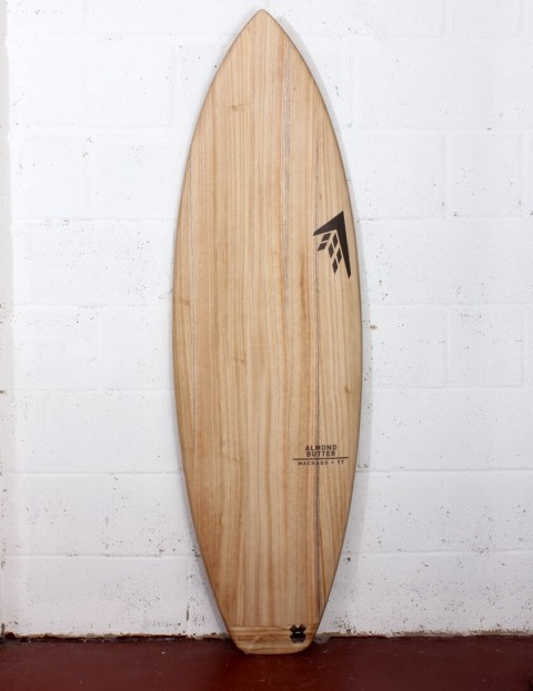 Firewire Timbertek Almond Butter surfboard 5ft 10 Futures - Natural Wood