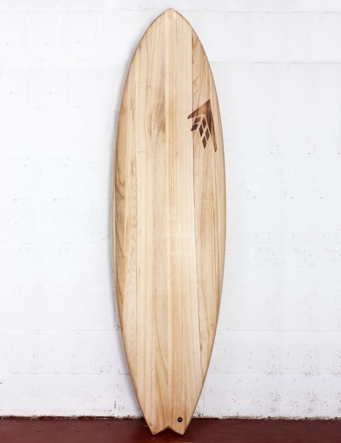 Firewire Timbertek ADDvance surfboard 6ft 6 FCS II - Natural Wood