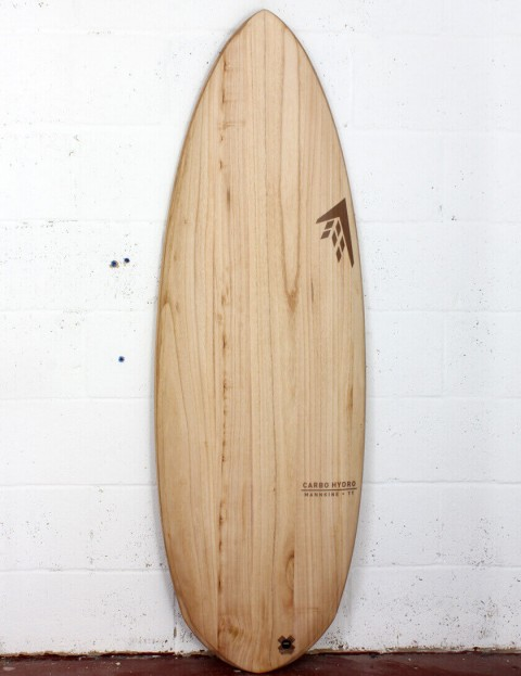 Firewire Timbertek Carbo Hydro surfboard 5ft 7 Futures - Natural Wood