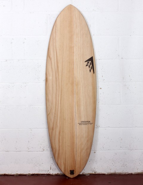 Firewire Timbertek Creeper surfboard 6ft 2 Futures - Natural Wood
