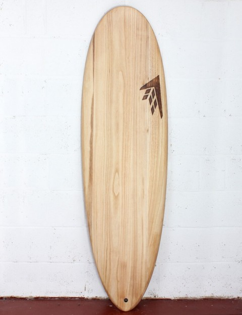 Firewire Timbertek Greedy Beaver surfboard 6ft 6 FCS II - Natural Wood