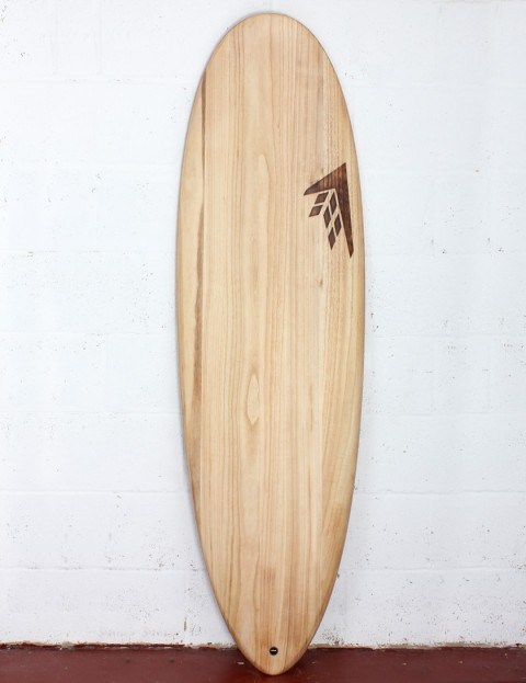 Firewire Timbertek Greedy Beaver surfboard 6ft 4 FCS II - Natural Wood