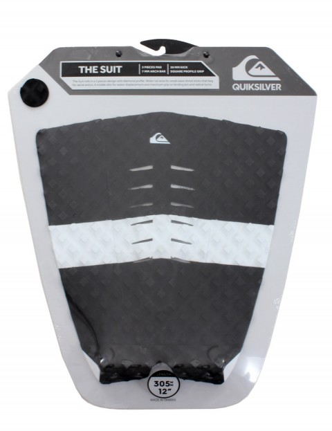Quiksilver The Suit surfboard tail pad - Black/White