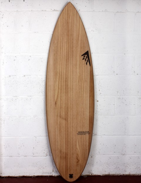 Firewire Timbertek Dominator surfboard 6ft 4 Futures - Natural Wood