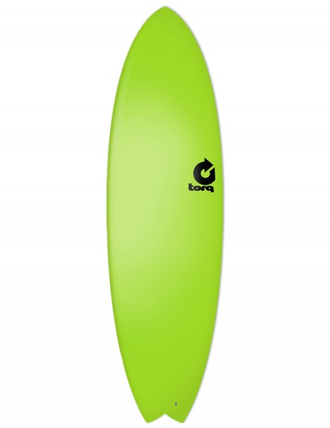 Torq Fish Soft & Hard surfboard 6ft 3 - Green