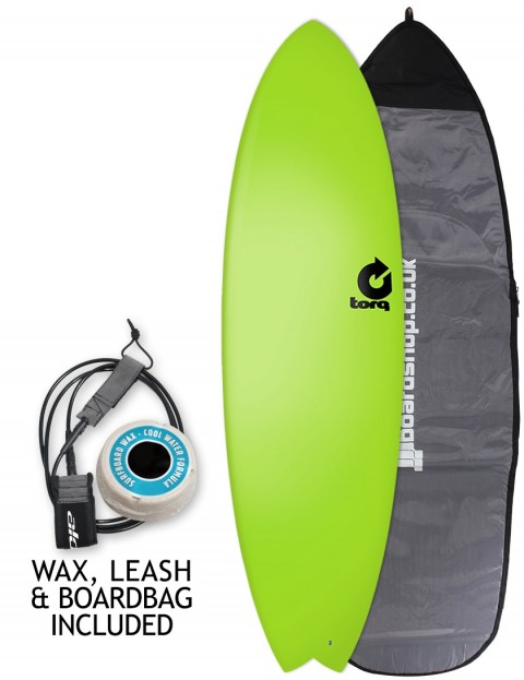Torq Fish Soft & Hard surfboard package 6ft 3 - Green