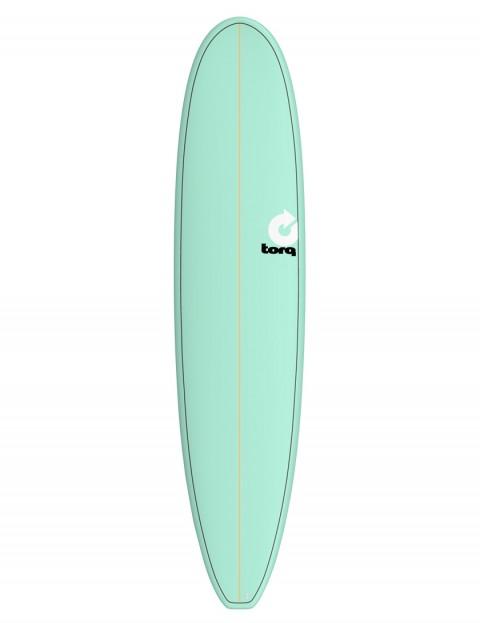Torq Longboard surfboard 8ft 6 - Sea Green/Pinline
