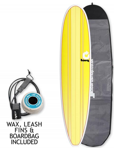 Torq Longboard surfboard 8ft 6 package - New Classic