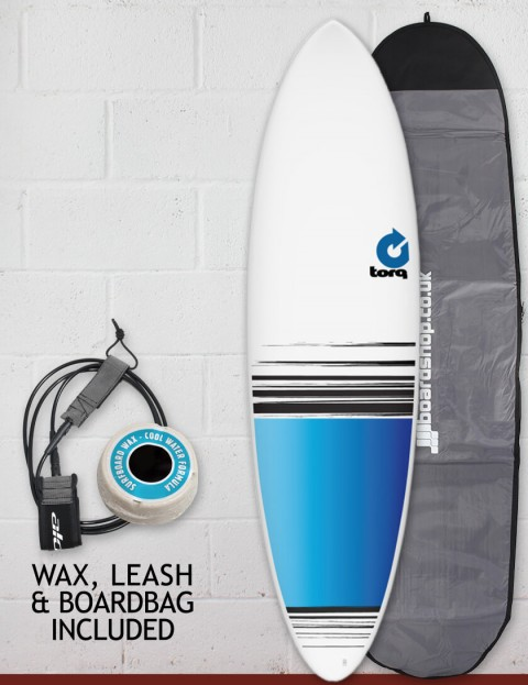 Torq Mod Fun Surfboard package 6ft 8 - Colour Fade