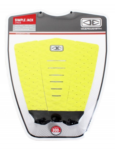 Ocean & Earth Simple Jack Surfboard Tail Pad - Lime
