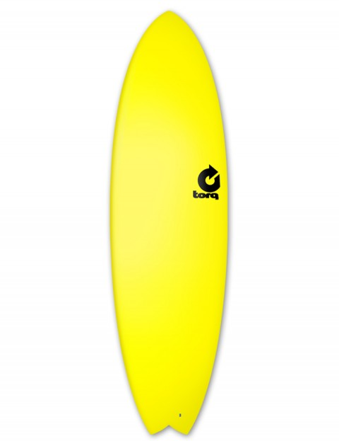 Torq Fish Soft & Hard surfboard 6ft 3 - Yellow